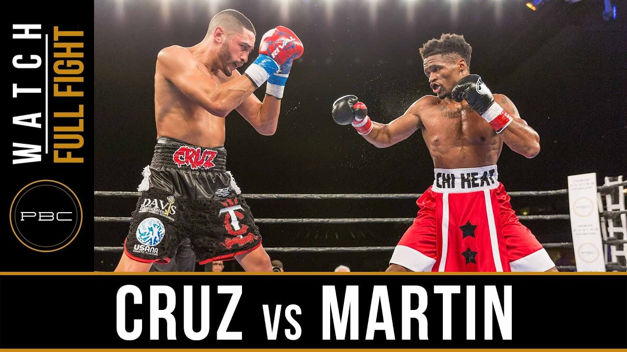 Martin vs Cruz FULL FIGHT: January 13, 2016 - PBC on Spike