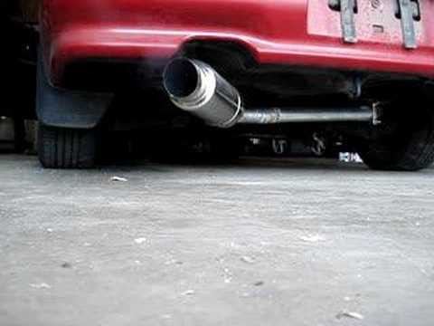 Integra Exhaust YouTube - 1990 acura integra muffler