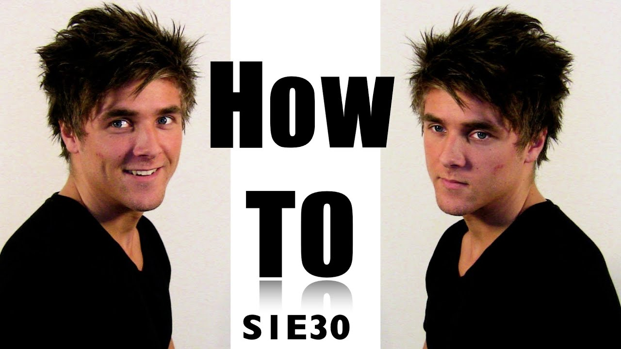 Messy Bed Hair For Men Hair Video Tutorial On How To Style Medium Long Mens Hair Morning Hair