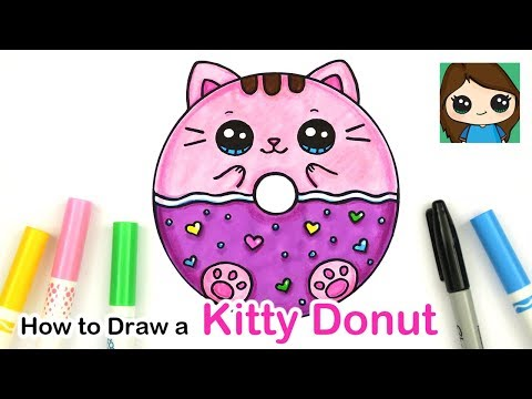 how-to-draw-a-kitty-donut-squishy-easy