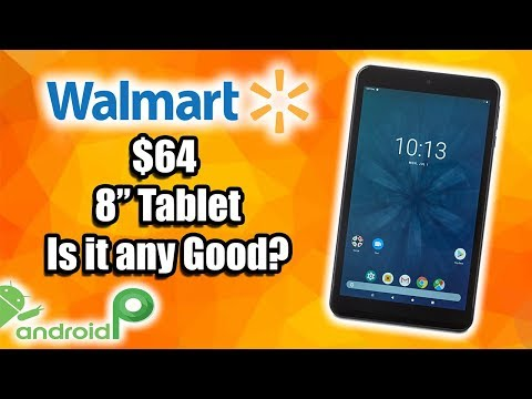 $64 Android 9.0 2019 Walmart Tablet Review - Is It Worth Buying?
