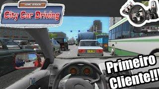 City Car Driving! Missão Primeiro Cliente! G27