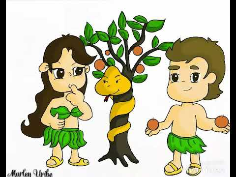 Clases Bíblicas - DIBUJANDO A ADÁN Y EVA