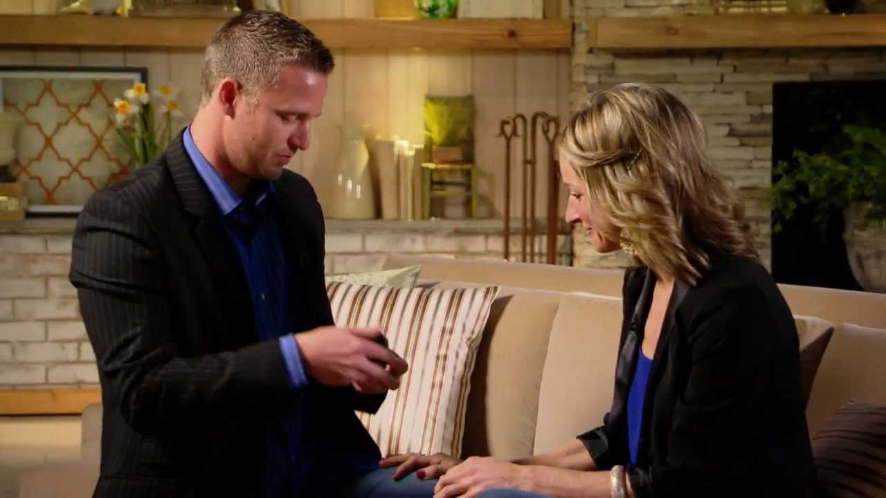 Surprise engagement at qvc youtube
