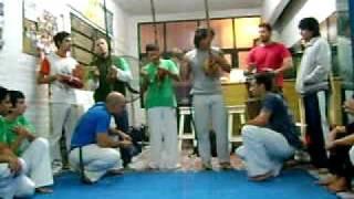 Capoeira Corpo e Magia Roda en la Academia de Ganga Zumbi 02/04/09_1