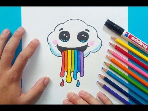 Dibujos De Una Nube Imágenes y Dibujos para Colorear