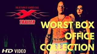 xXx India WORST COLLECTION EVER | Box Office Report | xXx Return Of Xander Cage