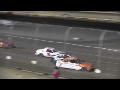 Ohsweken Speedway Mini Stock July 22, 2016 - dirt track racing video image