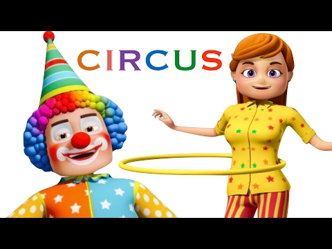 Thumbnail: Funny Little Babies Visiting Circus | Zool Babies Kids Songs | Cartoon Animation For Children