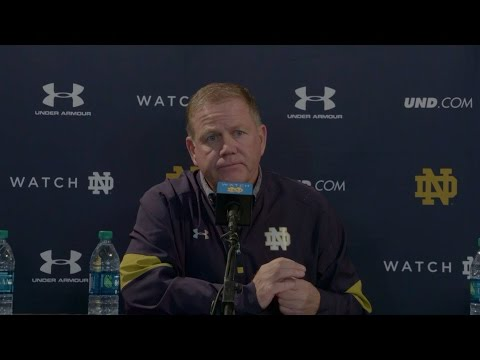 Notre Dame Football Post-Game Press Conference - USC