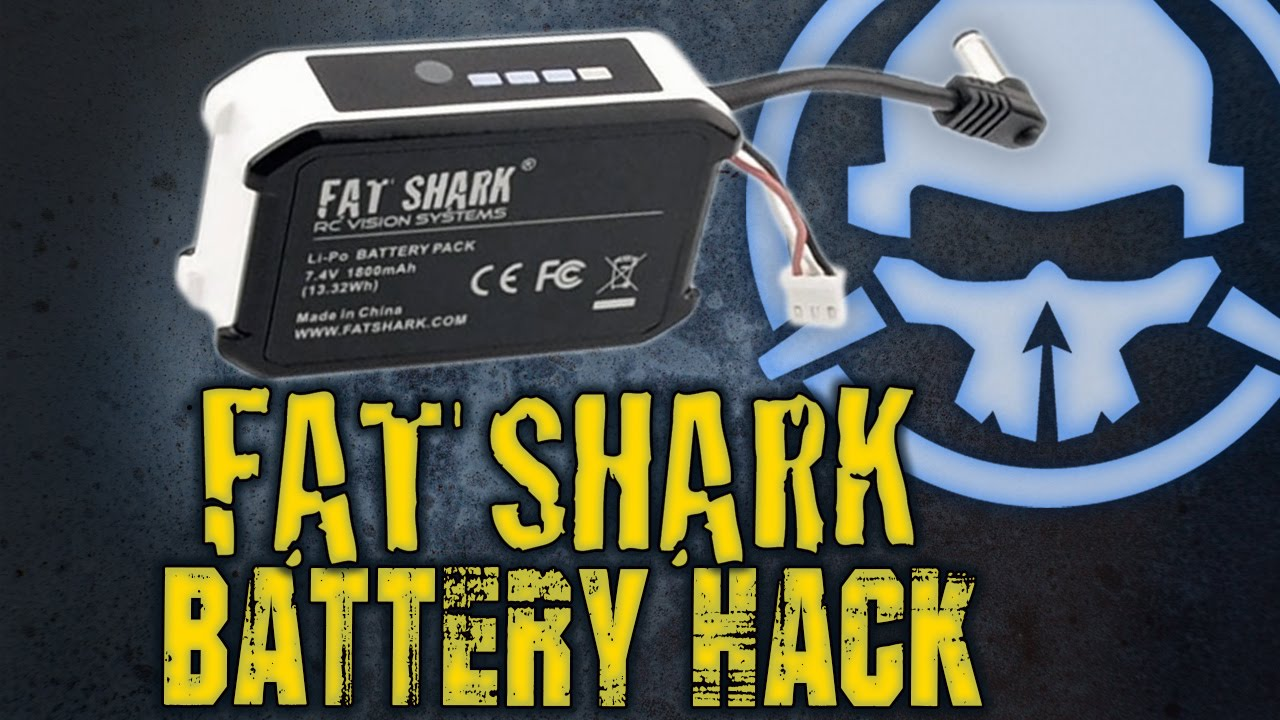 Fat Shark Battery Hack