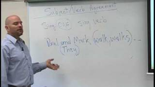 English - Subject/Verb Agreement