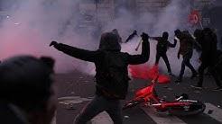 Frankreich: Ausschreitungen bei Protesten gegen Rentenreform