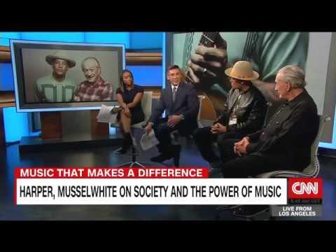 Ben Harper & Charlie Musselwhite on CNNi