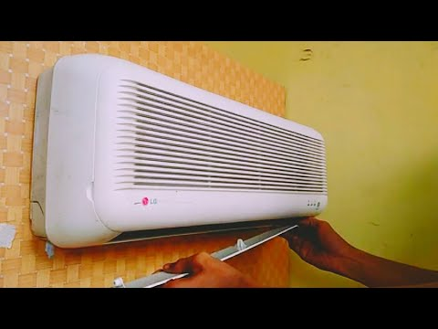 LG air conditioner cleaning