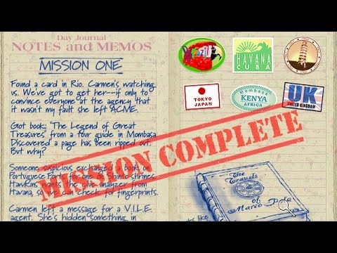 Mission 01 - (2001) Where in the World Is Carmen Sandiego - Treasures of Knowledge
