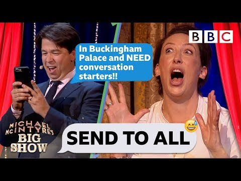 Send To All with Miranda Hart | Michael McIntyre's Big Show - BBC
