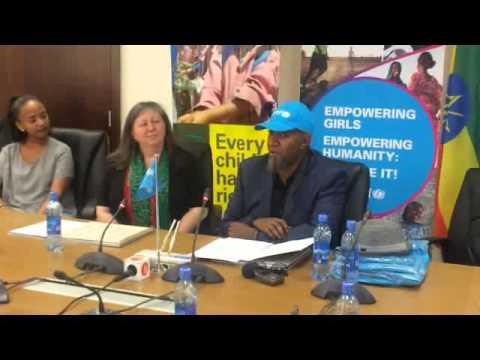 Tommy T UNICEF National Ambassador to Ethiopia