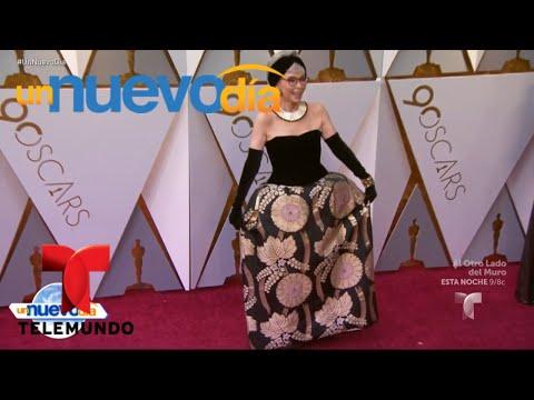 ¡Ellos fueron los mejores vestidos de los Premios Oscar! | Un Nuevo Día | Telemundo