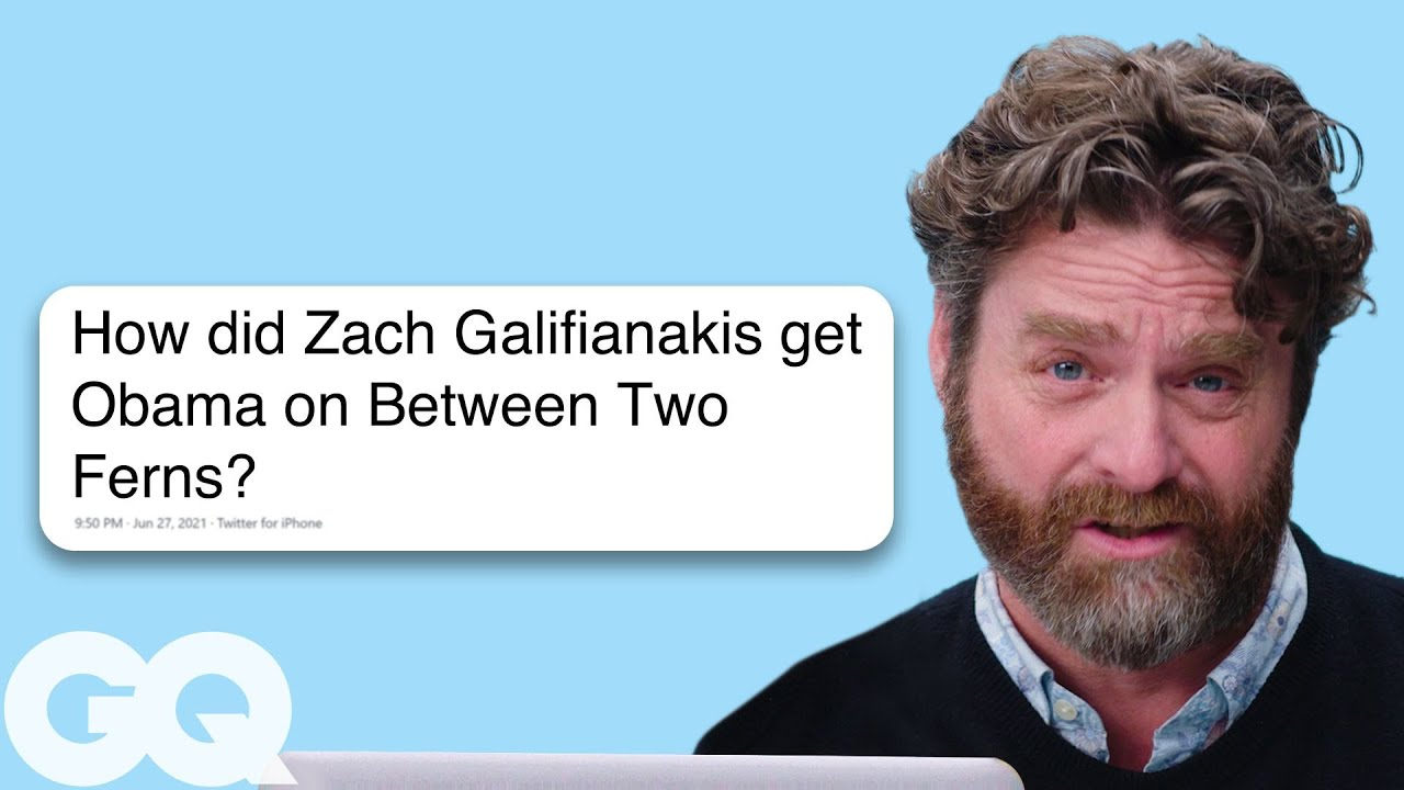 Zach Galifianakis Goes Undercover on Reddit, YouTube and Twitter | Actually Me