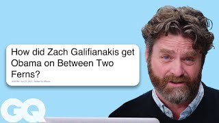 Zach Galifianakis Goes Undercover on Reddit YouTube and Twitter  Actually Me  GQ