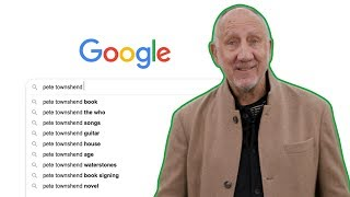 The Who's Pete Townshend Answers His Most Googled Questions | According To Google | Radio X