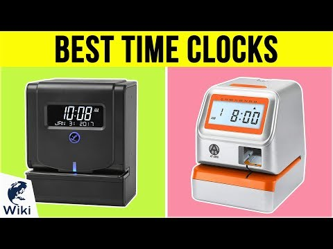 10 Best Time Clocks 2019