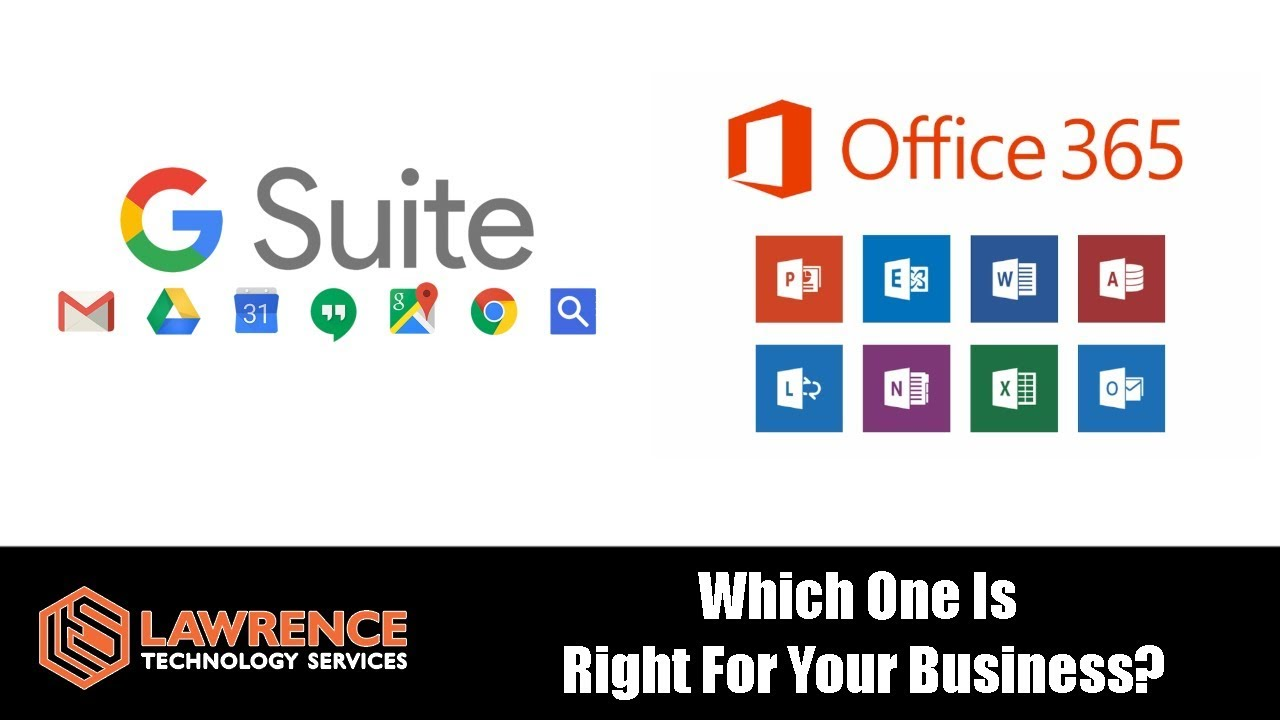 Office 365 Vs G Suite Which One Is Right For Your Business Youtube