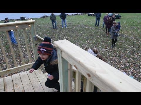 Cicero boy gets treehouse through Make A Wish