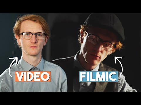 Achieve FILM LIGHTING In 5 Minutes! No Extra Lights! | The Film Look