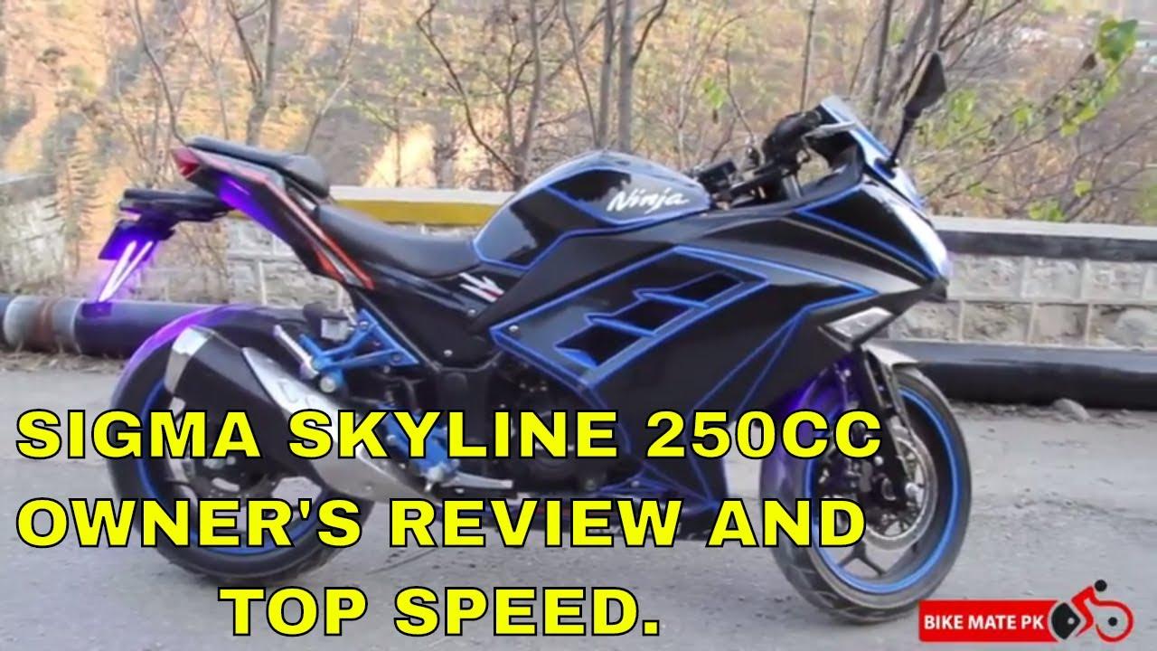 ZONGSHEN SKYLINE 250cc | TOP SPEED | CHEAPEST KAWASAKI ZX 300 REPLICA