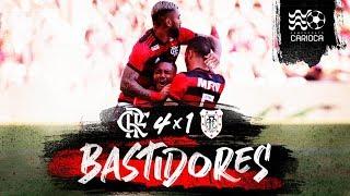 Flamengo vence o Americano por 4 a 1, na estreia da Taça Rio. Veja os bastidores
