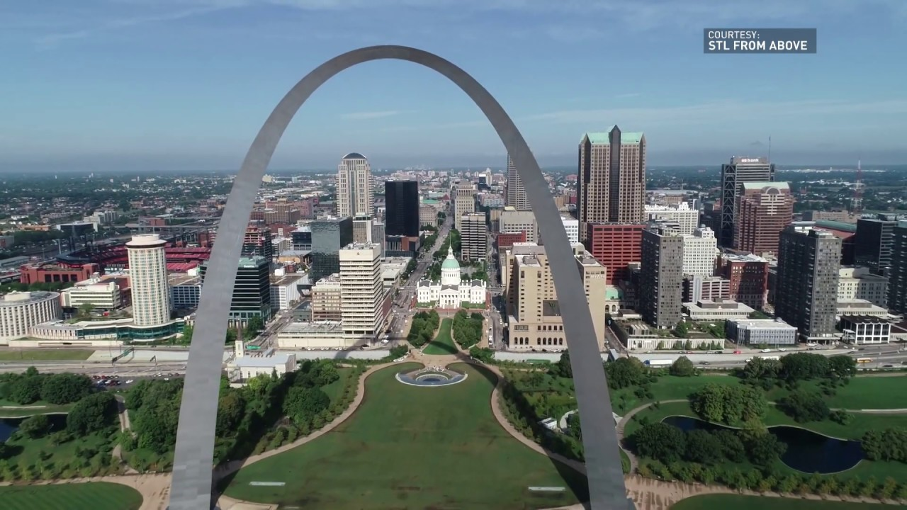 Take a look above the Arch!