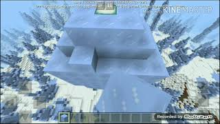 How to make an Ice Spike House in Minecraft