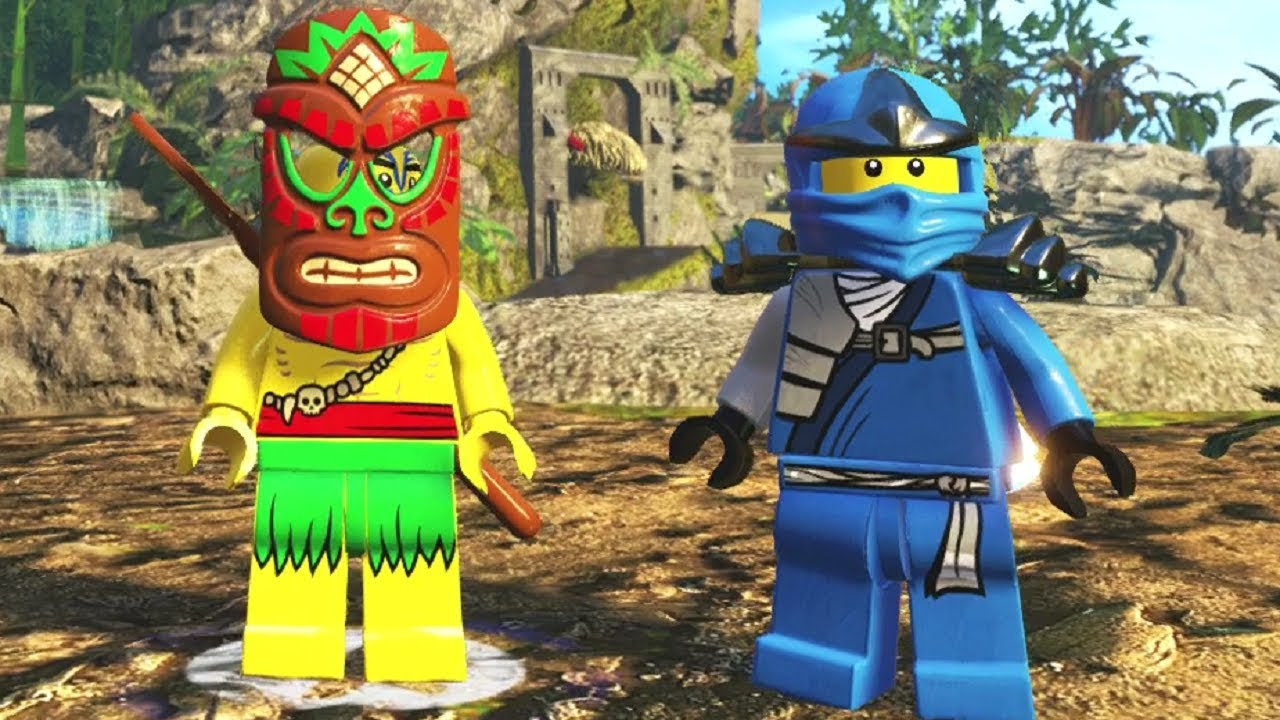 The LEGO Ninjago Movie Videogame - The Uncrossable Jungle 100% Guide (All Collectibles)
