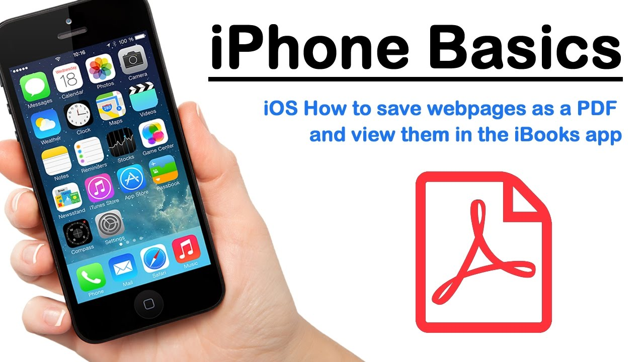 And View Pdf Iphone