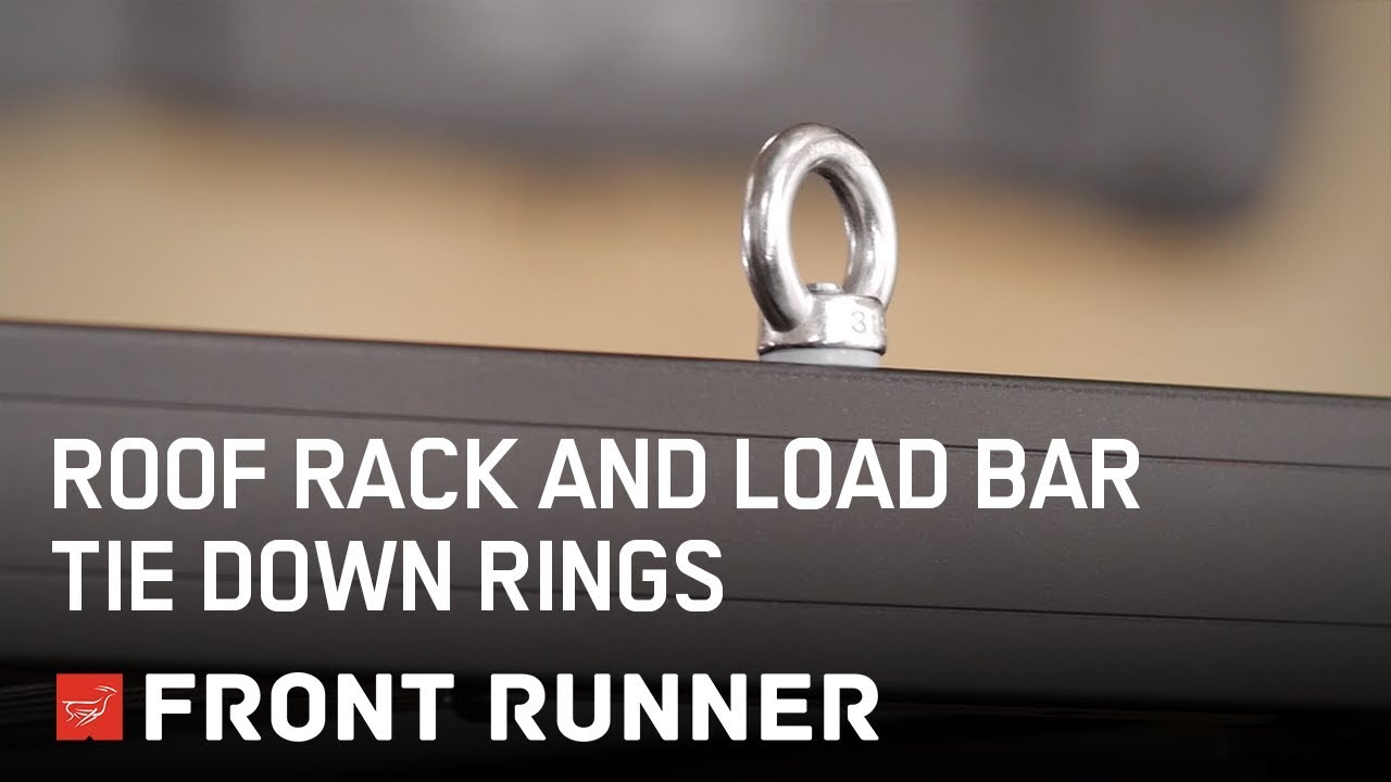 Roof Rack And Load Bar Tie Down Rings By Front Runner