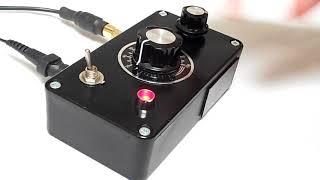 RC CIRCUIT BENT 'DISTURBIA SOUND MACHINE' RANDOM NOISE GENERATOR ATMOSPHERE SYNTHESIZER