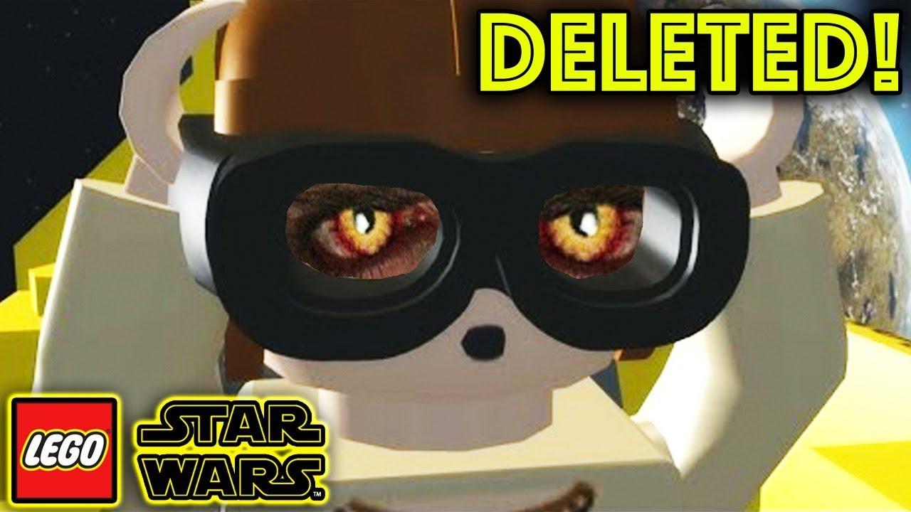 Lego Star Wars Deleted Level