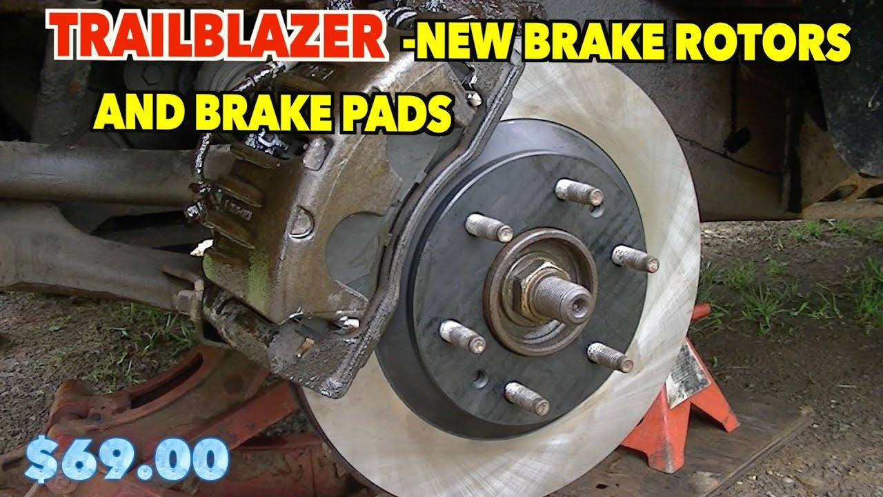 Trailblazer Brakes And Rotors Replacement