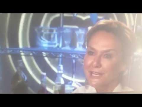 Celebrity MasterChef 2014 Amanda Burton and mash