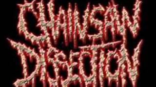 CHAINSAW DISSECTION - DEAD AND BURIED (MORTICIAN COVER)