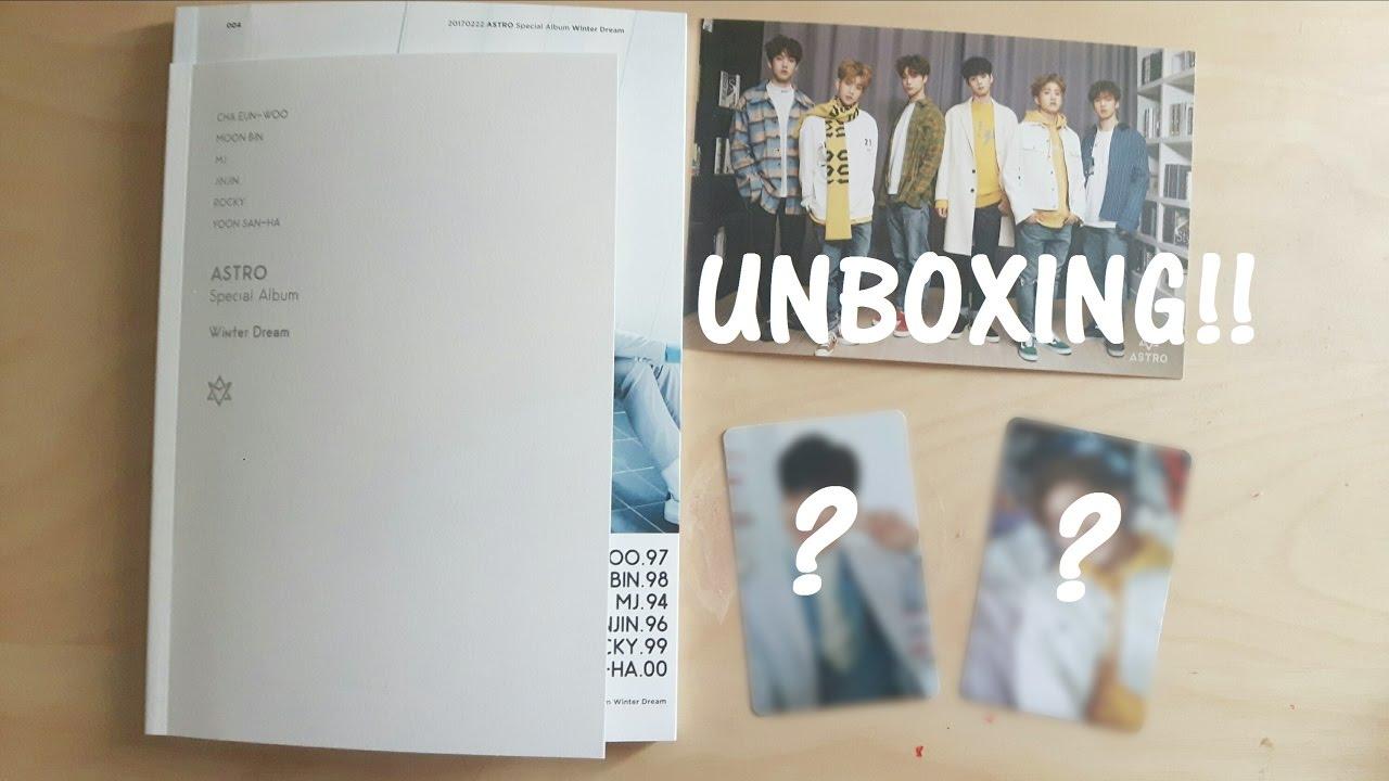 Unboxing: ASTRO - Winter Dream Album