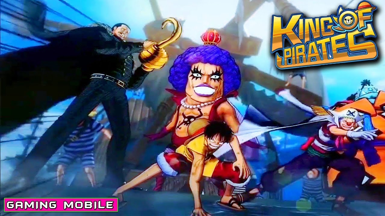 [Android/IOS] King Of Pirates (One Piece) - Battle of Marineford Gameplay