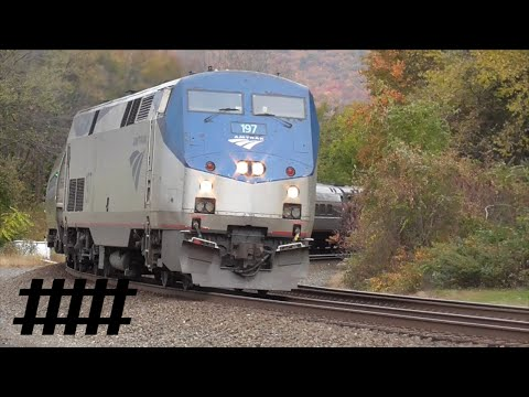 PRR Private Rail Car on Amtrak Pennsylvanian Train