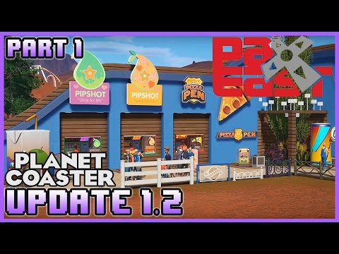 UPDATE 1.2!! Pax East Reveal! Part 1 #PlanetCoaster
