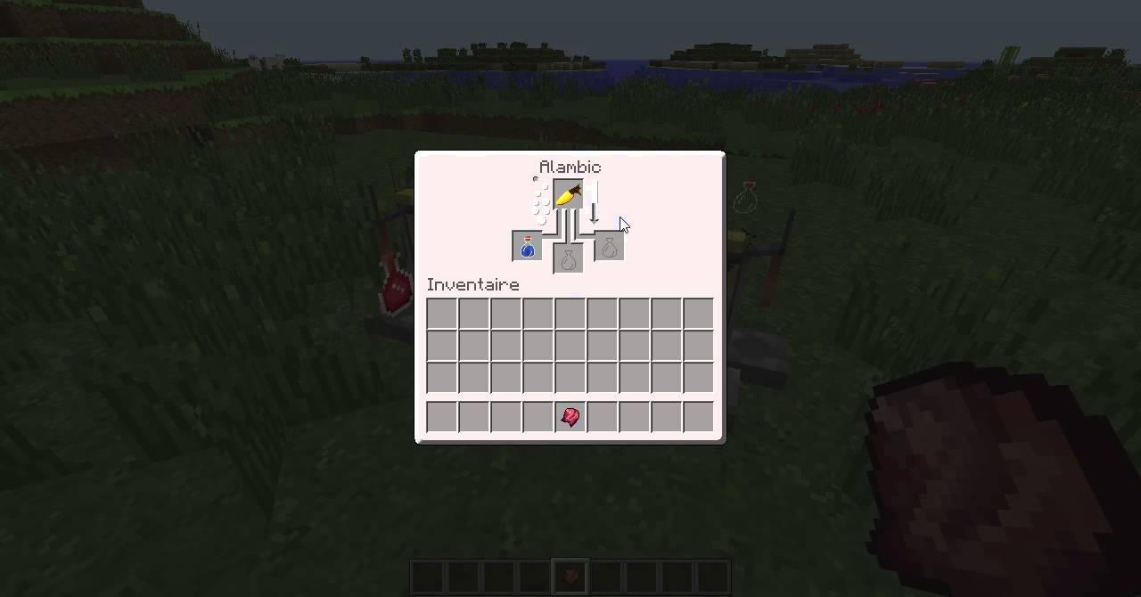 Tuto comment faire les potion dans minecraft youtube - Faire un lit minecraft ...