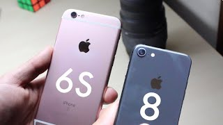 iPHONE 6S Vs iPHONE 8 IN 2018! (Comparison / Review)