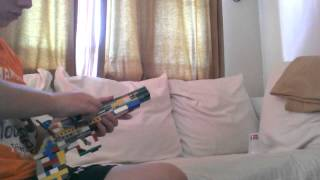 Lego flintlock pistol (working)