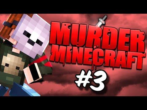 MURDER MYSTERY SUR MINECRAFT ! MAP MANOIR HANTÉE ! EPISODE 3 !